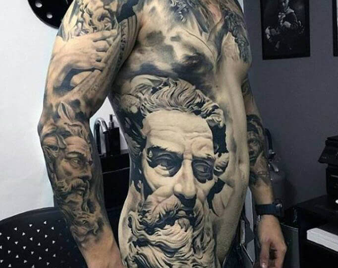 150 Greek Tattoos Mythology And Ancient Gods For Men And