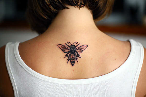 The image of a bee as talisman and symbol of prosperity